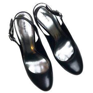 Style & Co Shoes - Style &Co Black Sling Back High Heels, size 9